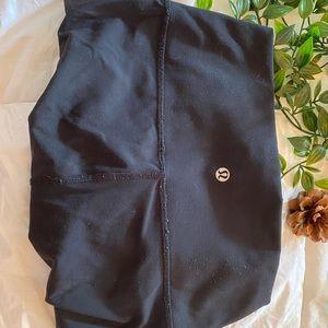 lululemon wunder under leggings in black